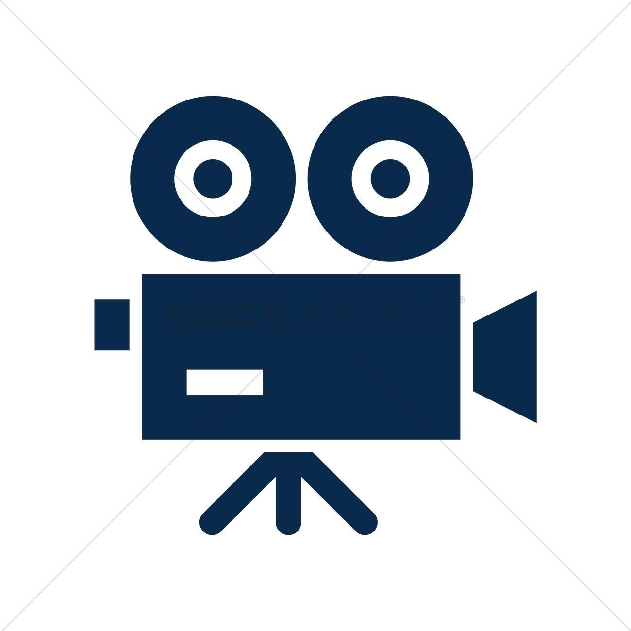 1300x1300 Film Camera Vector Image