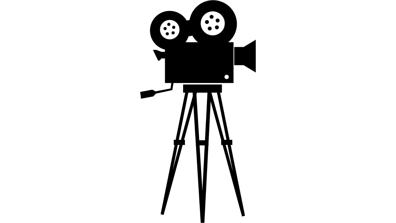 3000x1695 Clipart Of Movie Camera Clip Art At Clker Com Vector Online