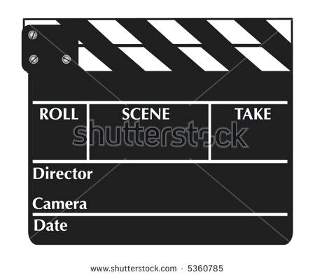450x396 Vector Movie Clapper Board Directors Clapboard Template For Or