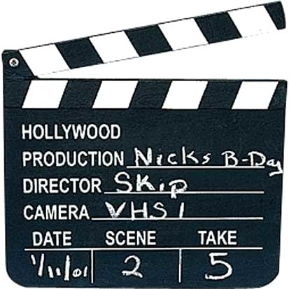 413x413 Clapboard Vector Directors Template Movie Invitations Royalty Free