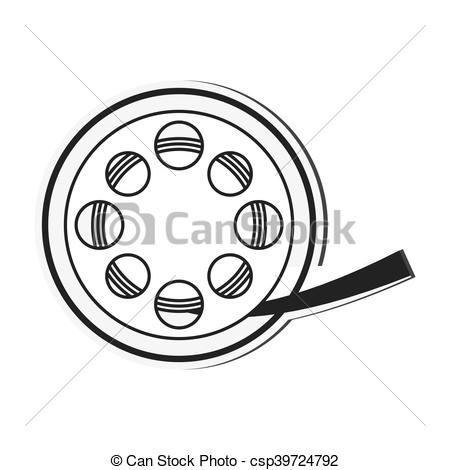 450x470 Film Reel Cinema Movie Design. Film Reel Cinema Movie