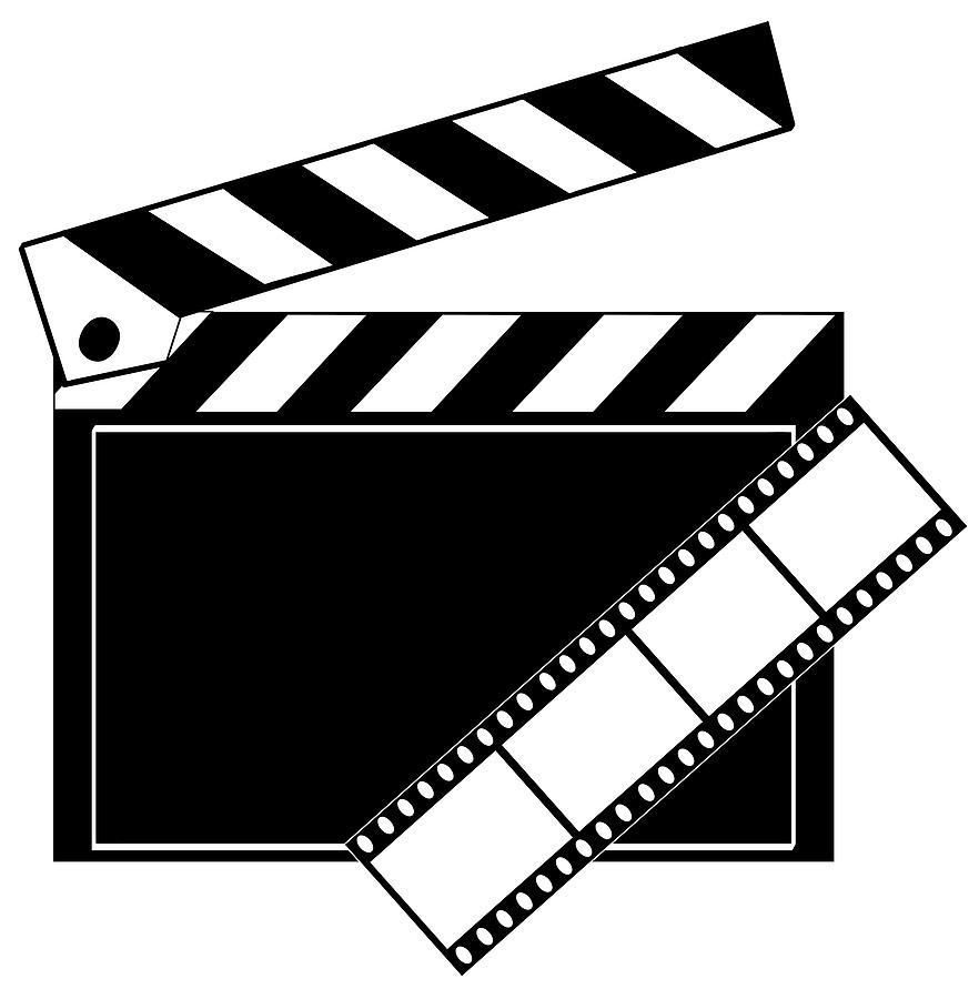 882x900 Movie Clipart Film Roll