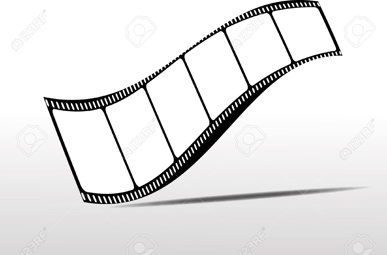 1300x859 Movie Clipart Roll Vector