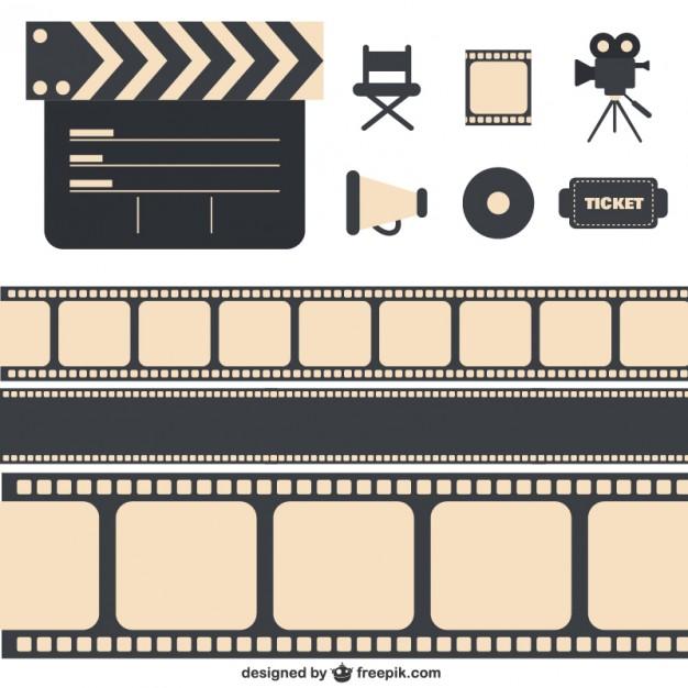 626x626 Cinema Pack Vector Free Download