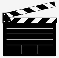 200x195 Vector Clapper Board For Movie Or Film Vector Art