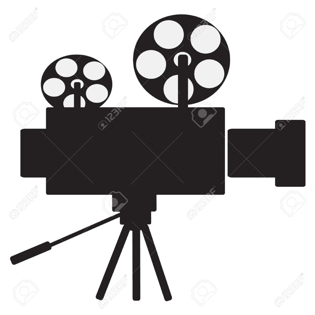 1300x1300 Movie Clipart Projecter ~ Frames ~ Illustrations ~ Hd Images