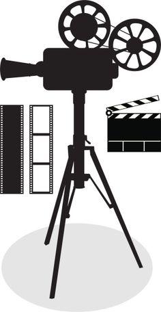 236x456 Antique Movie Projector Film Logo Inspiration