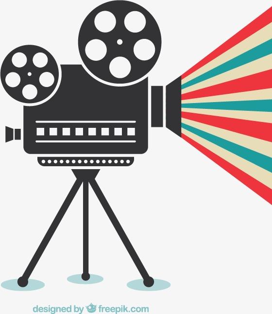 560x646 Creative Movie Projector Vector Material Downloaded,, Movie Vector