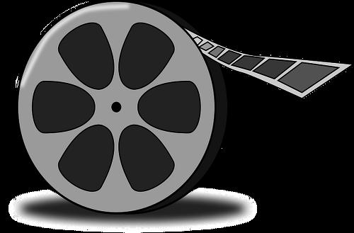 500x329 Film Reel Vector Illustration Public Domain Vectors
