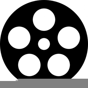 300x300 Movie Reel Vector