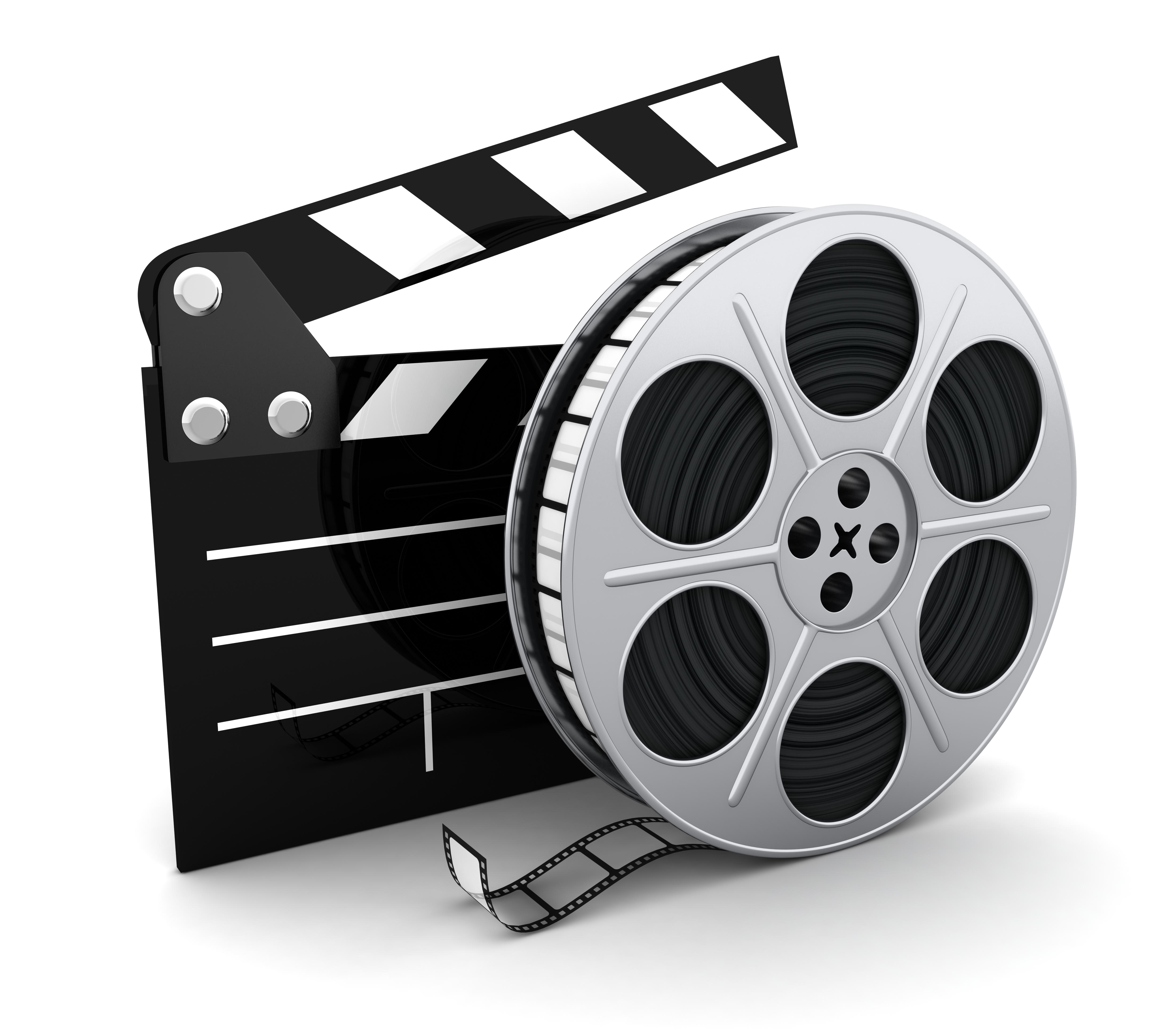 5000x4375 Movie Reel Vector