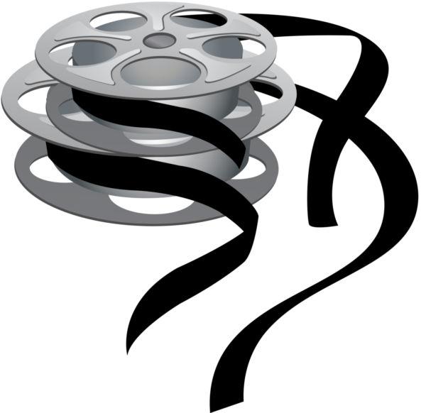 600x582 Movie Reel Vector Clipart Best Clipart