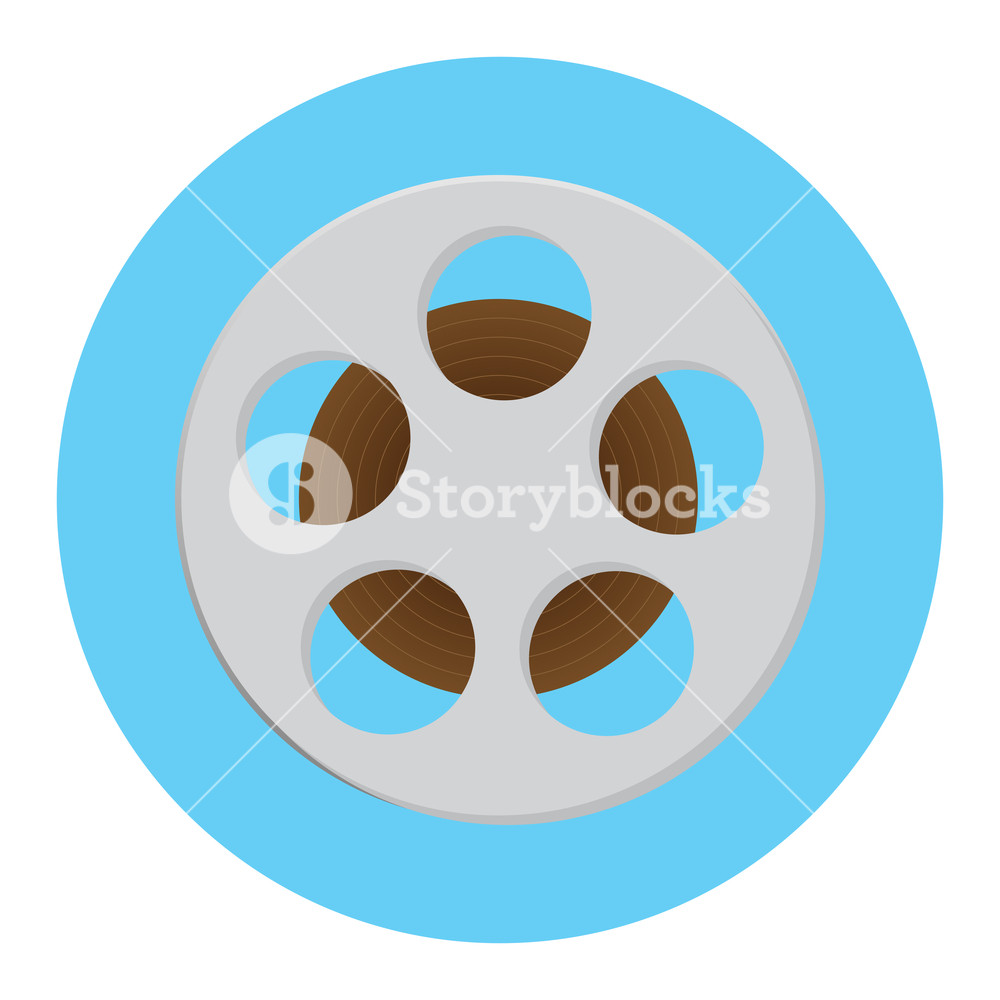 1000x1000 Reel Of Film Icon. Film Strip And Movie Reel, Film Roll And Film