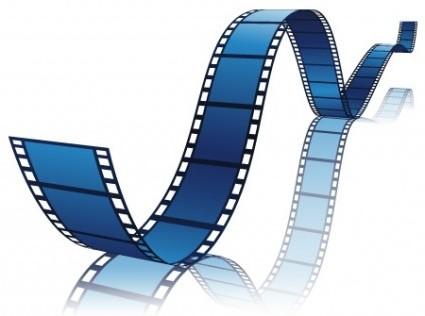 425x316 Vector Film Reel Vector Art