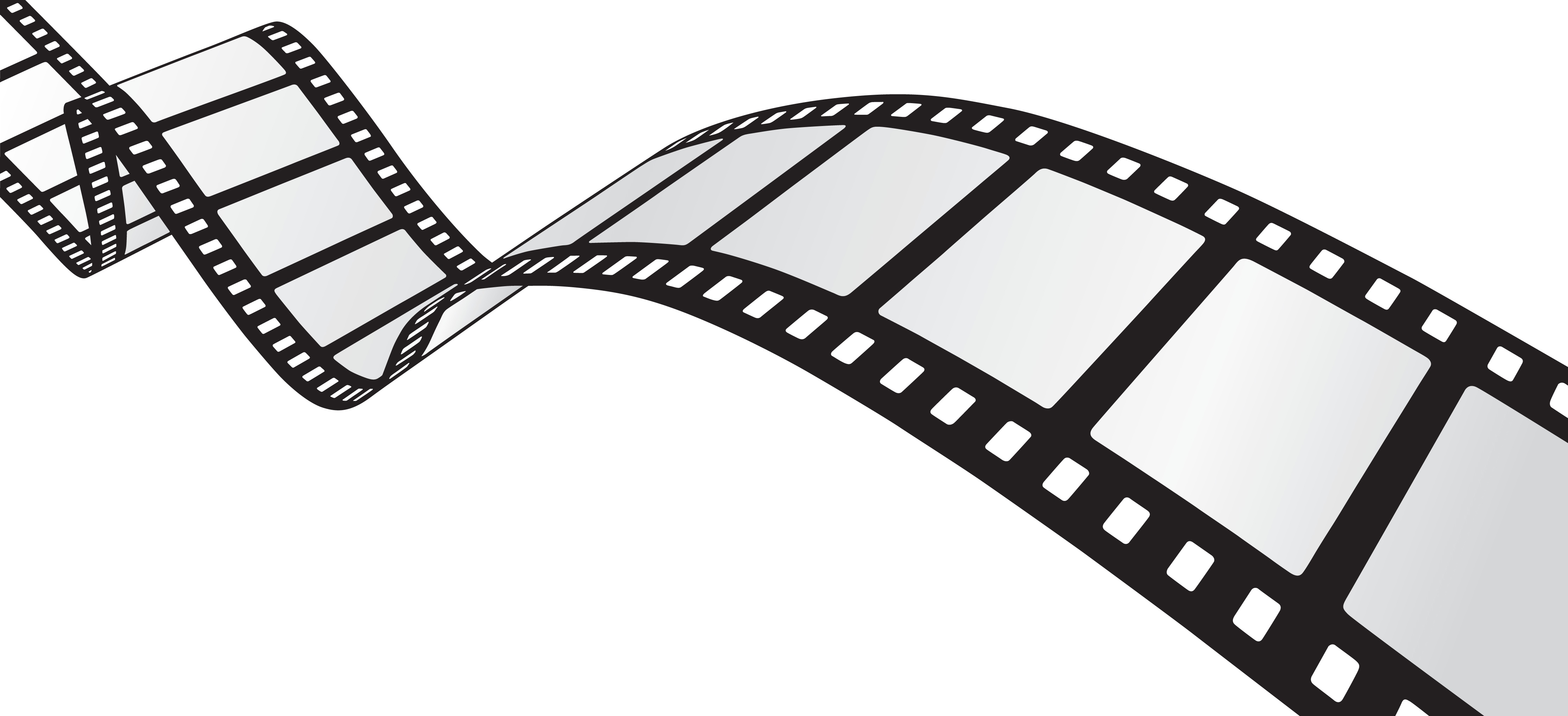 4455x2034 Color Movie Reel Clipart