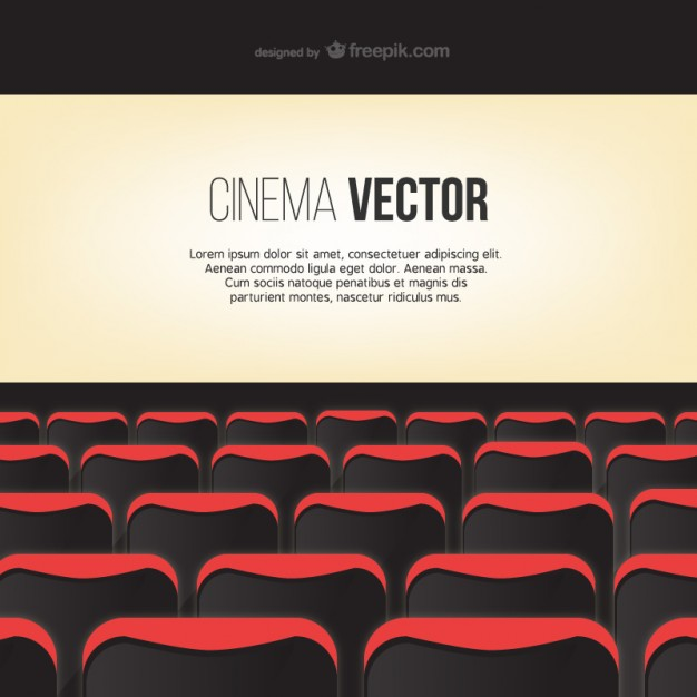 626x626 Cinema Screen Template Vector Free Vector Download In .ai, .eps