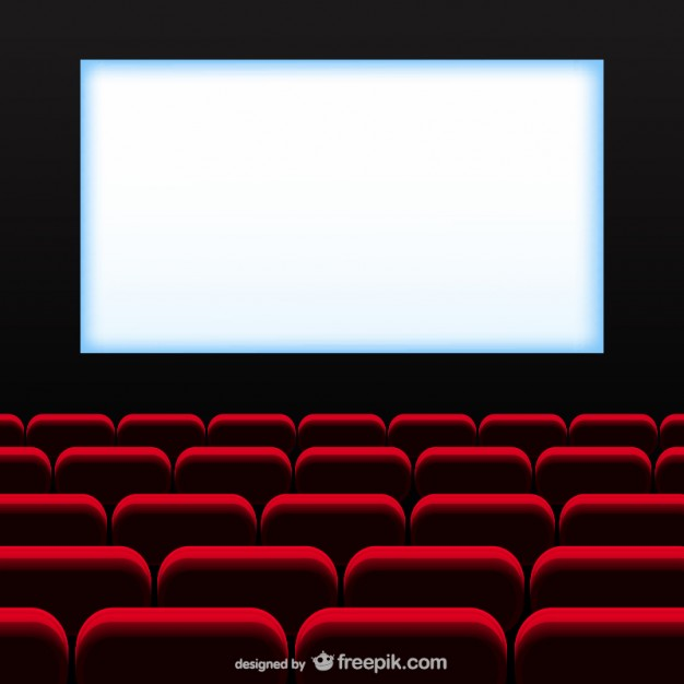 626x626 Movie Theater Vector Free Download