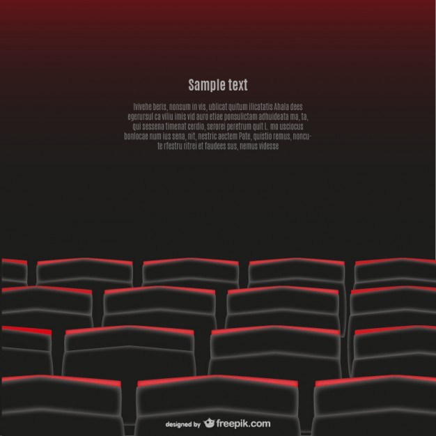 626x626 Movie Theater Seats Vector Free Download