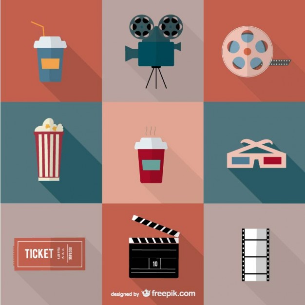 626x626 Movie Theater Vector Art Vector Free Vector Download In .ai