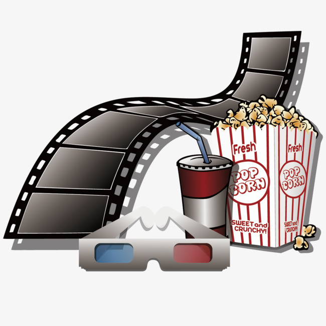 650x651 Ready 3d Movie Theater Vector, Movie Vector, Clip Art, Montage Png