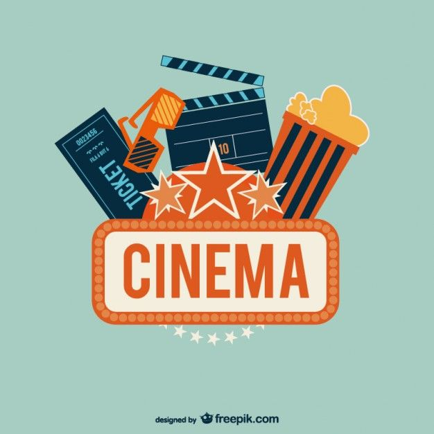 626x626 Cinema Art Free Vector Typo Amp Printable Cinema