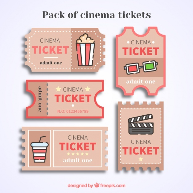 626x626 Movie Ticket Vectors, Photos And Psd Files Free Download