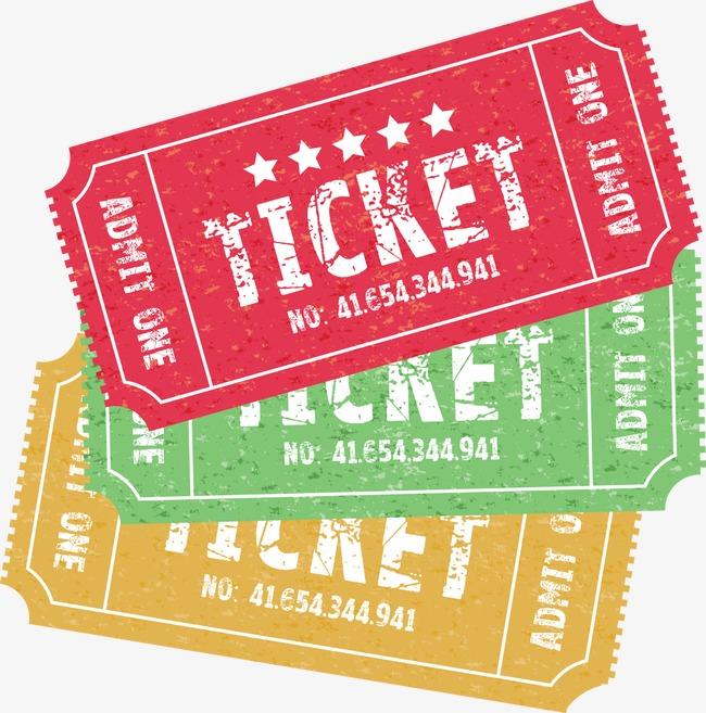 650x657 Vector Cartoon Movie Tickets, Movie Ticket, Cartoon Movie Tickets