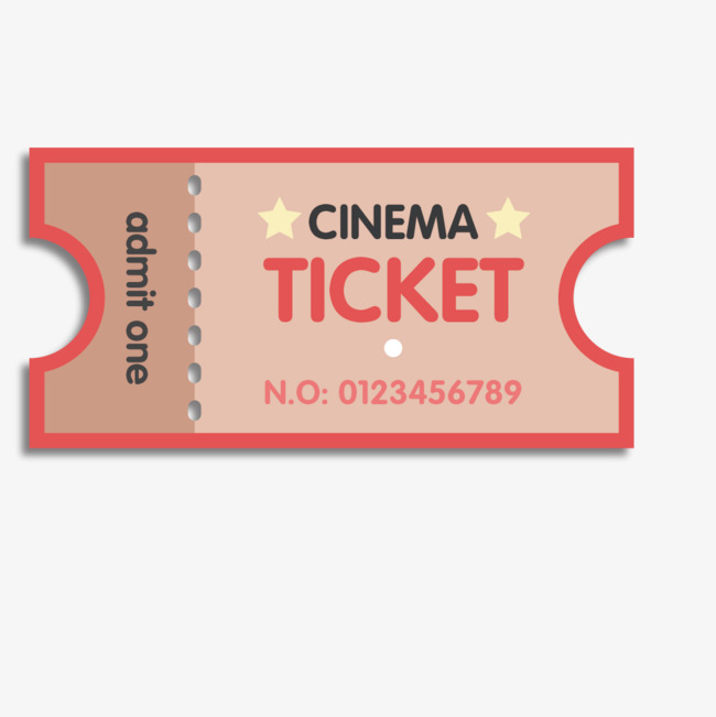 650x651 Vector Retro Movie Ticket, Vector, Pink, Retro Png And Vector For
