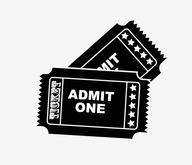 615x529 Movie Ticket, Vector Movie Tickets, Admit Png And Vector For Free