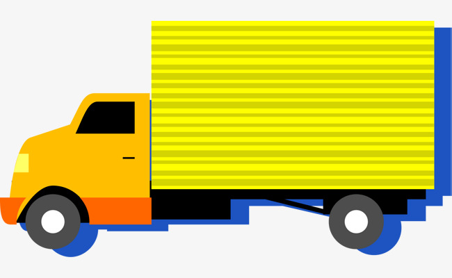 650x400 Yellow Truck, Truck Vector, Truck Clipart, House Moving Png And