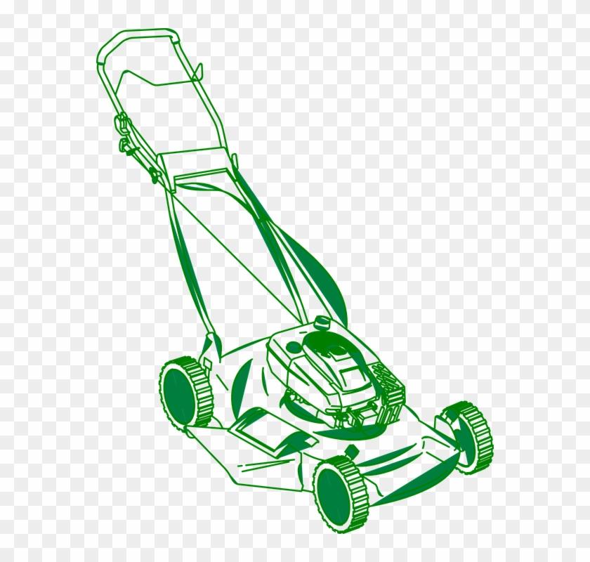 840x800 Lawn Mower Clipart