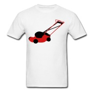190x190 Lawn Mower Vector By Tinastees Spreadshirt