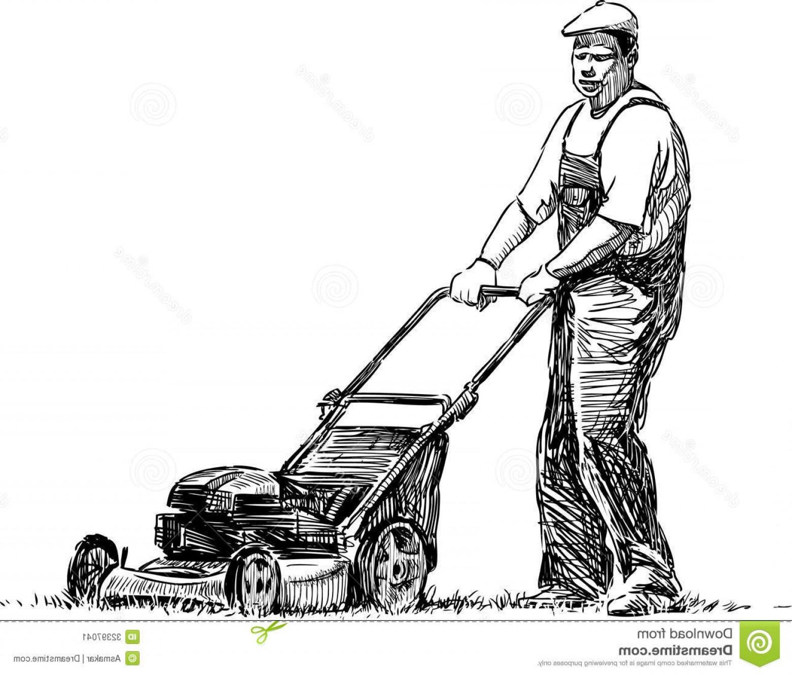 1560x1329 Lawn Mowing Vector Art Geekchicpro