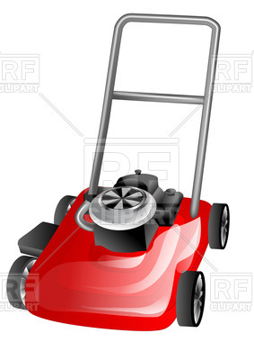 283x400 Lawn Mower Vector Image Vector Artwork Of Objects Arkela