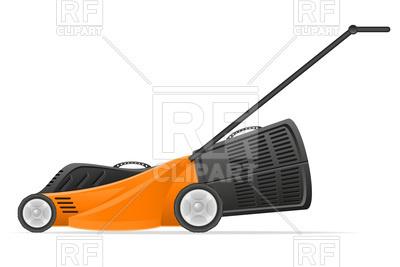 400x267 Lawn Mower Vector Image Vector Artwork Of Objects Konturvid
