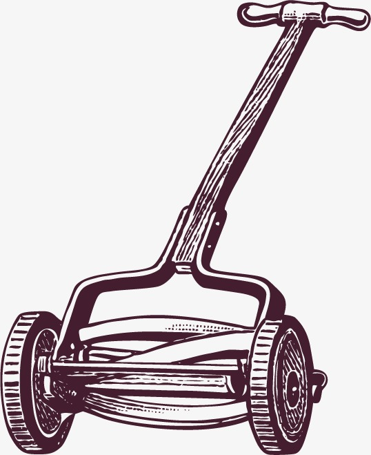 538x659 Mower Sketch, Sketch, Lawn Mower, Vector Painted Png And Vector