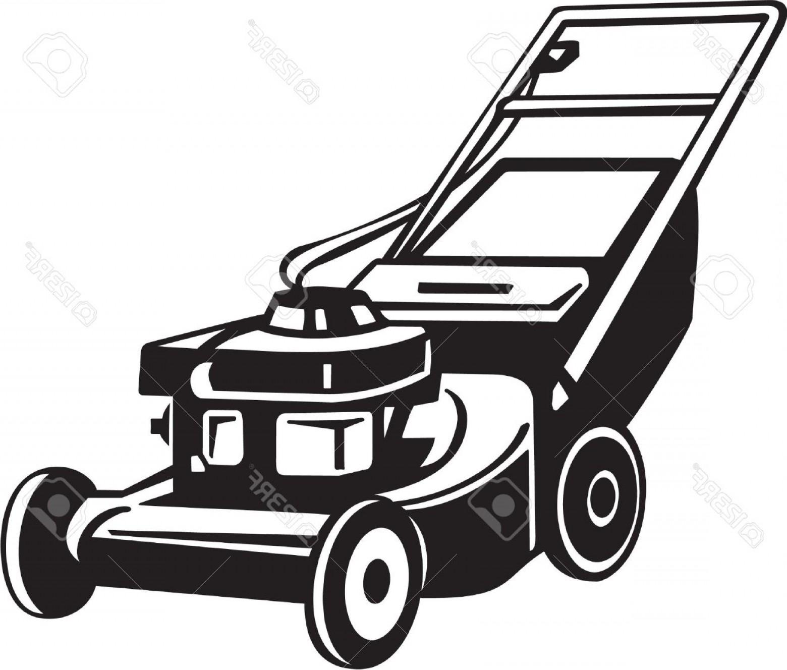 1560x1328 Photopower Lawnmower Vinyl Ready Vector Illustration Shopatcloth