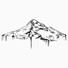 Mt Hood Vector