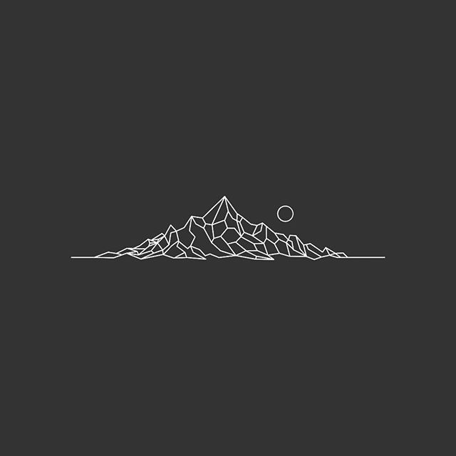 640x640 Mountain Clipart Geometric 3725408