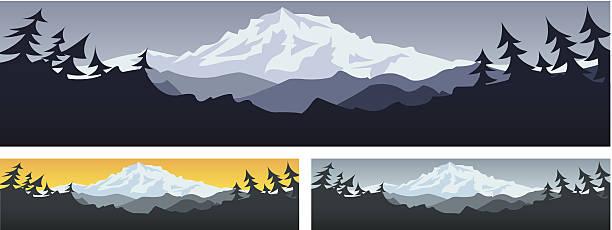 Mt Rainier Vector
