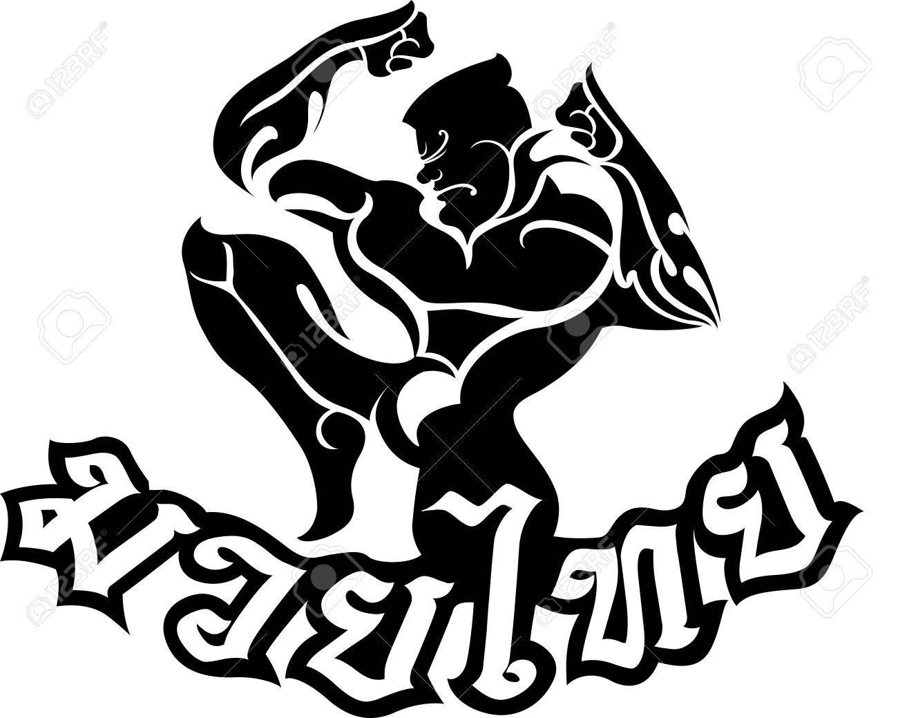 Muay Thai Vector
