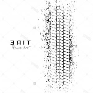 300x300 Stock Photo Tire Track Impression Print Of A Tire In The Mud