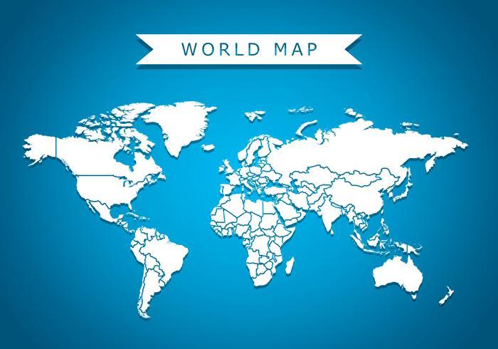 700x490 Background Mapa Do Mundo Vector