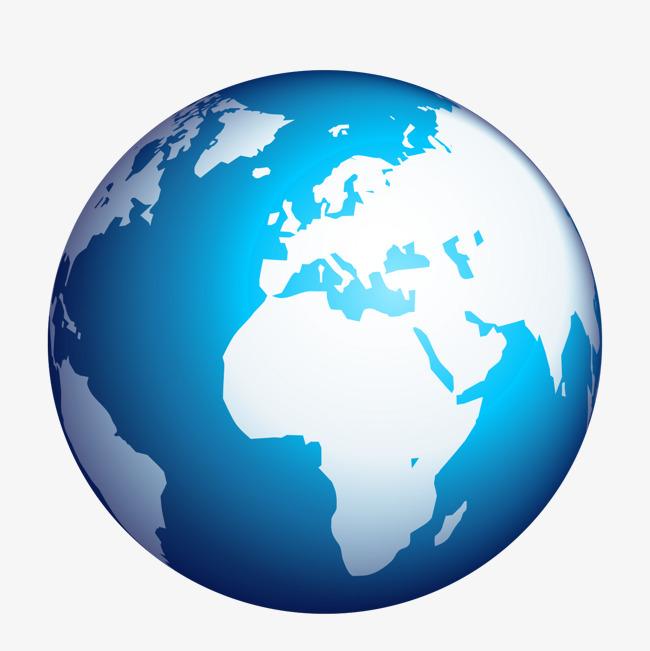 650x651 Blue Earth Creative Perspective, Blue Vector, Earth Vector, Earth