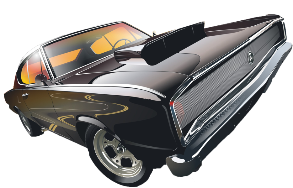 934x600 Muscle Car Vector (Psd) Official Psds
