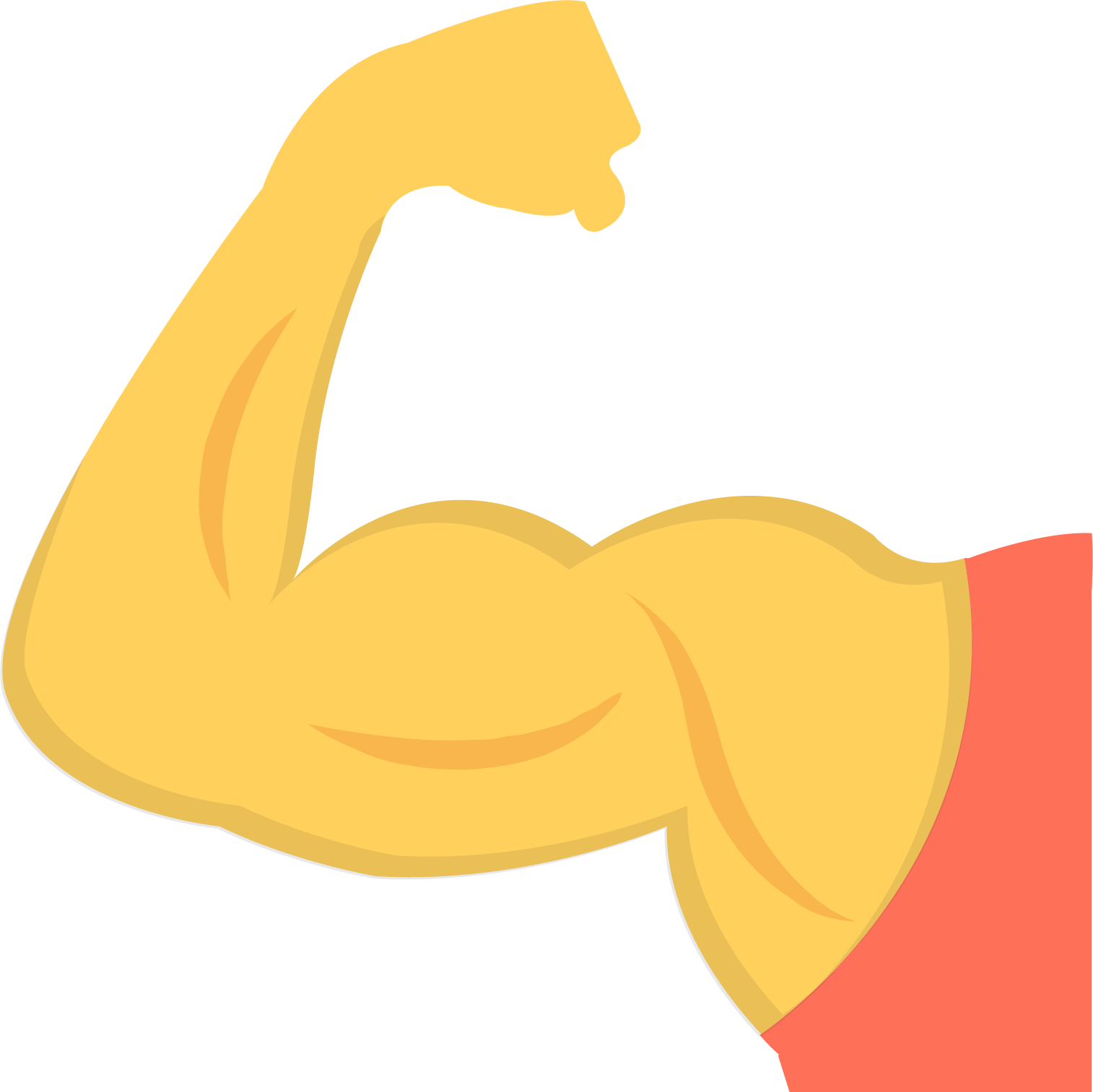 1514x1513 Collection Of Free Vector Arms Muscle. Download On Ubisafe