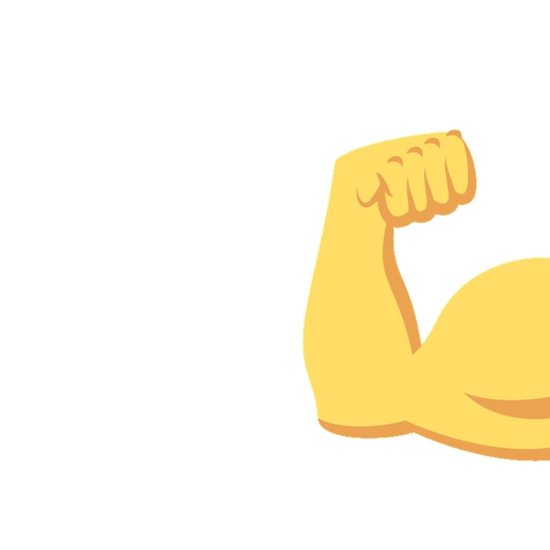 800x800 Emoji Clipart Muscle 22