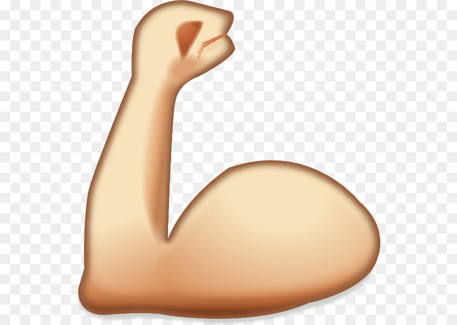 900x640 Emoji Muscle Sticker Arm Icon
