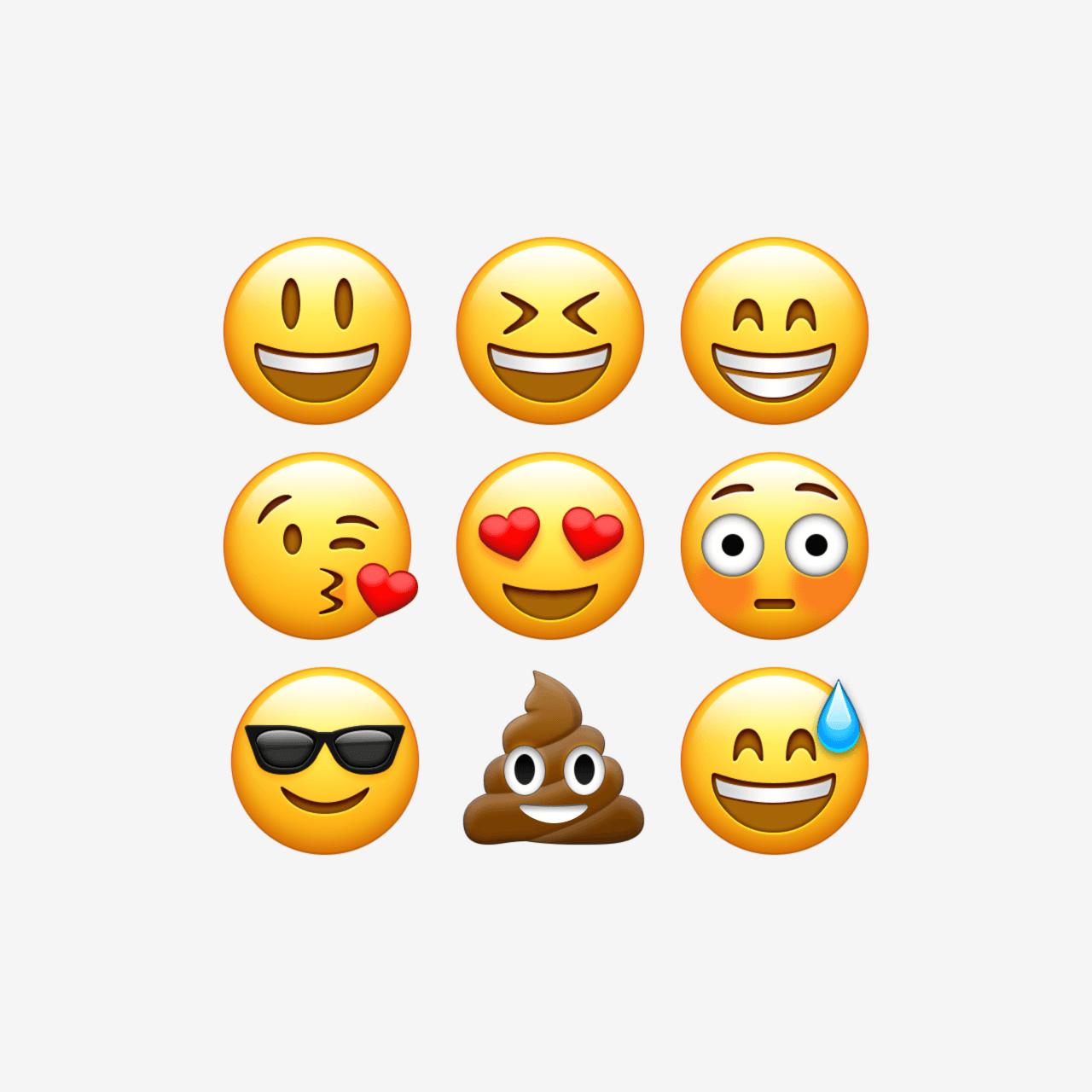 1280x1280 Vector Emoji Apply Pixels