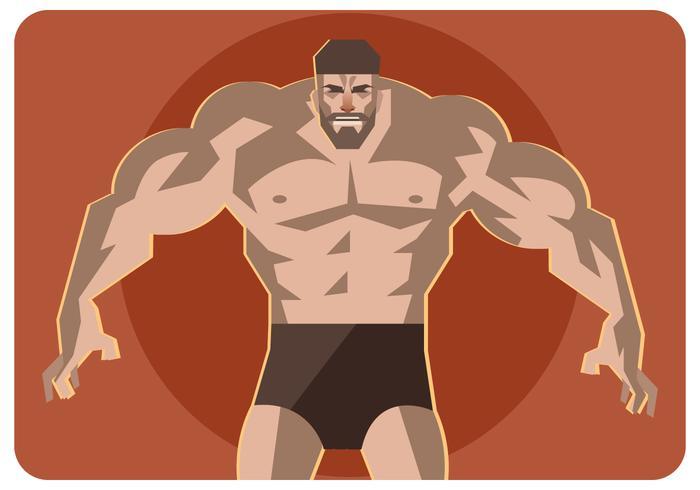700x490 Muscular Man Vector
